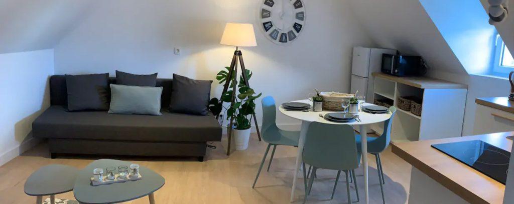 Appartement T2 Les petits galets en location court séjour à Pont l'Abbé